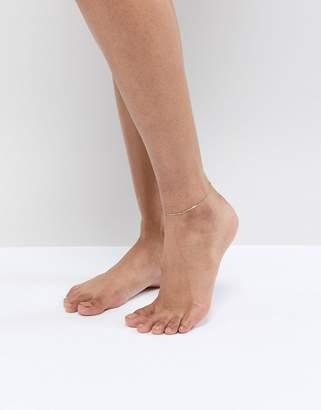 Aldo Gold Minimal Multi Layer Anklet