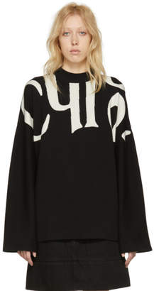 Chloé Black and White Logo Pullover