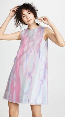 Paskal Sleeveless Watercolor Dress