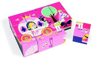 Janod 12-Piece Learning Toys Fairy Tale Blocks