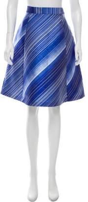 Vika Gazinskaya Printed A-Line Skirt
