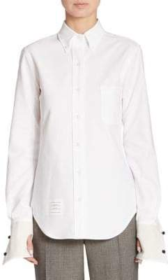 Thom Browne Oversize Button-Down Shirt