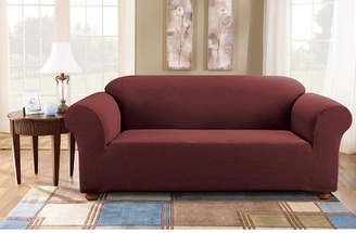 Sure Fit Simple Stretch Subway Box Cushion Sofa Slipcover