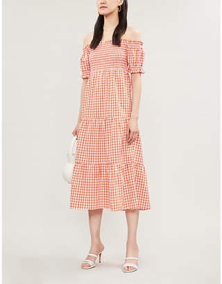 KITRI Alma gingham dress