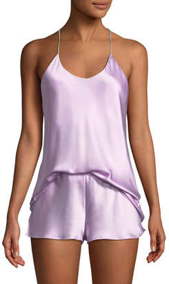 Olivia Von Halle Bella Orchid Camisole Shorty Pajama Set