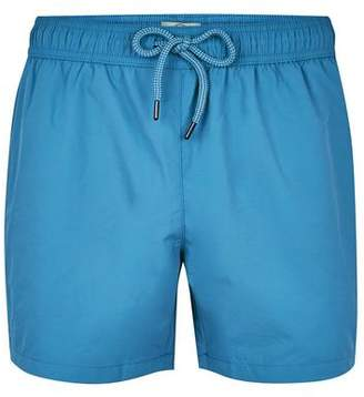 Topman Mens Cobalt Blue Swim Shorts