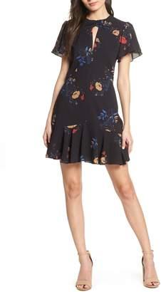 Cooper St Go-Go Flutter Sleeve Georgette Dress 7015030df
