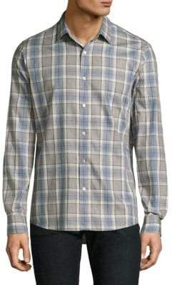 Michael Kors Cotton Casual Button-Down Shirt