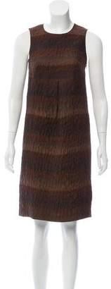 Burberry Printed Knee-Length Dress