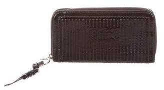 Chloé Patent Leather Zip Around Wallet