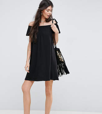 Asos Tall TALL Off Shoulder Mini Dress