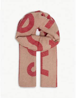 Acne Studios Logo scarf
