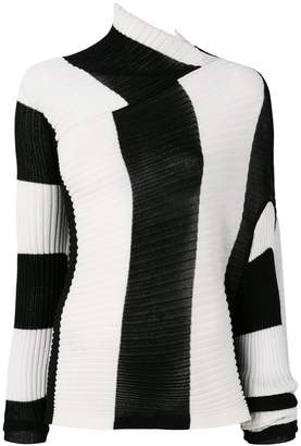 Marques Almeida Marques'almeida striped ribbed pullover