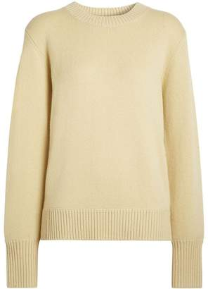 Burberry Archive Logo Appliqué Cashmere Sweater