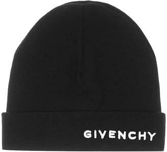 Givenchy Logo wool beanie