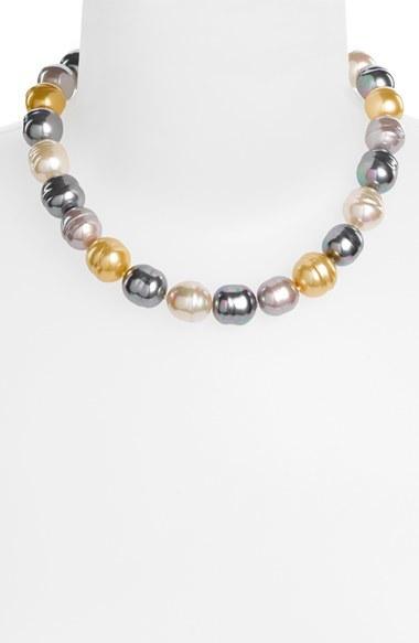 Majorica 14mm Baroque Pearl Necklace