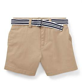 Polo Ralph Lauren Belted Stretch Chino Short(6-24 Months)