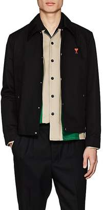 Ami Alexandre Mattiussi Men's Logo Cotton Coach's Jacket