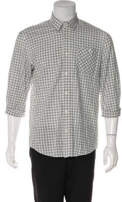Scotch & Soda Gingham Button-Up Shirt