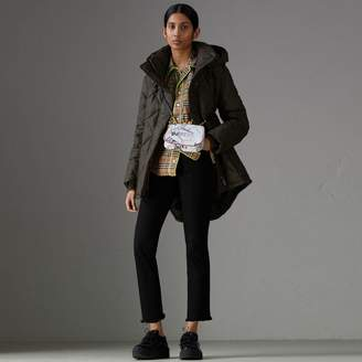 Burberry Detachable Hood Quilted Oversized Jacket