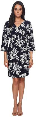 Lauren Ralph Lauren Gali Kimono Floral Dress Women's Dress