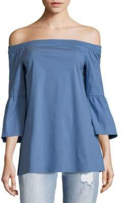 Lafayette 148 New York Rosario Off-The-Shoulder Top