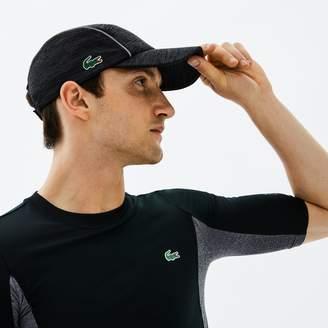 204cd1e8f Lacoste Men s SPORT Tennis Jersey   Metallic Mesh Cap