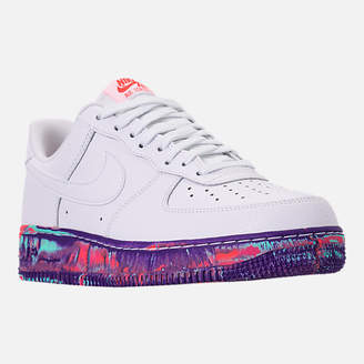 Nike Men's Force 1 '07 LV8 Leather Casual Shoes