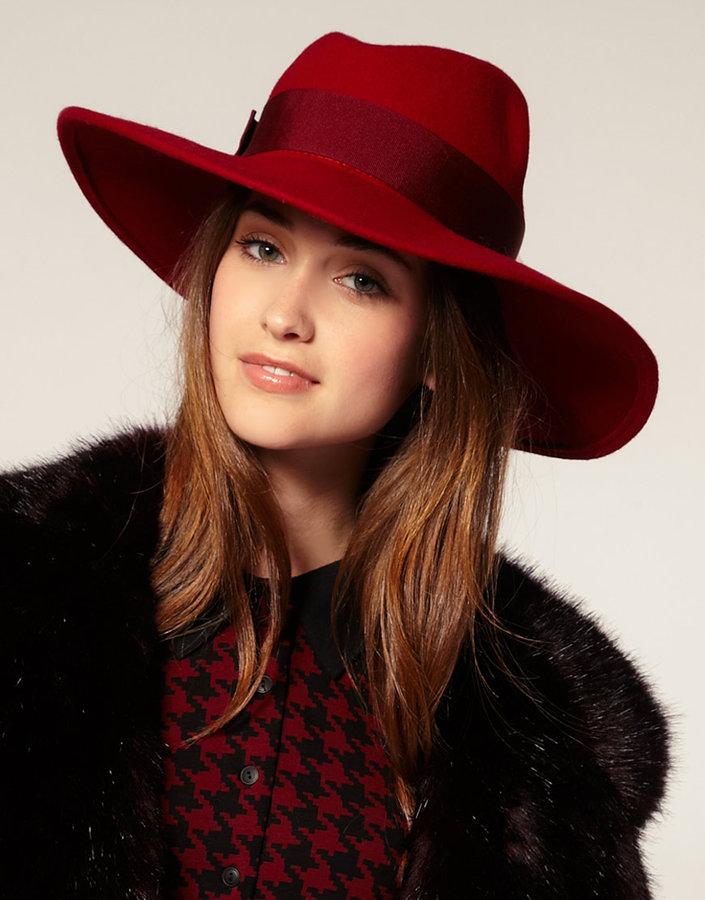 Catarzi Large Exclusive For Asos Brim Fedora Hat