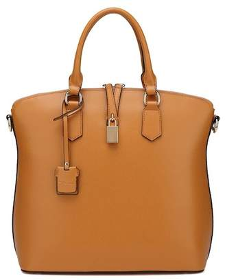 Vicenzo Leather Delicia Top Handle Leather Handbag