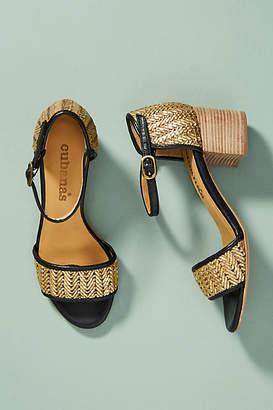 Cubanas Marie Woven Heeled Sandals