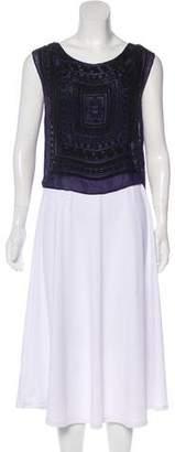 Mara Hoffman Sleeveless Embellished Top