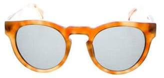 Westward Leaning Westward\\Leaning Round Tinted Sunglasses