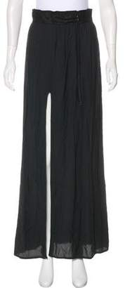 Helmut Lang Pleated Maxi Skirt