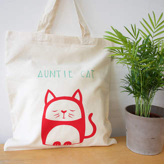 Nell Personalised Organic Cotton Tote Bag