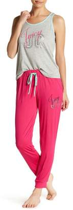 Juicy Couture Pajama Tank Top & Joggers 2-Piece Set