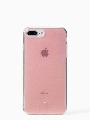 Kate Spade glitter iphone 7 & 8 plus case