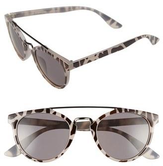 A.J. Morgan 'Coco' 49mm Sunglasses $24 thestylecure.com