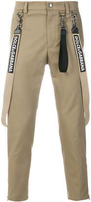 Dolce & Gabbana brace trousers