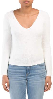 Juniors Jackie V-neck Sweater