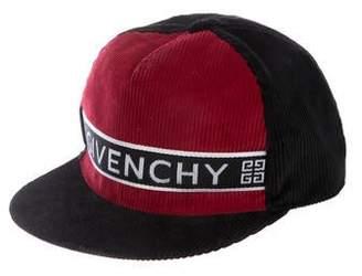 edf3368d270a4 Givenchy Corduroy Loog Cap