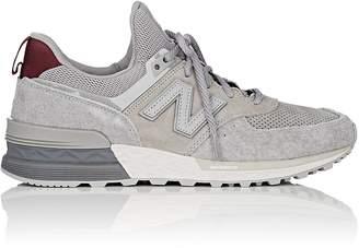 New Balance Men's 574 Suede & Mesh Sneakers