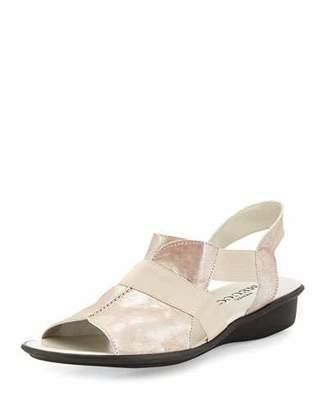 Sesto Meucci Estelle Strappy Stretch Sandal $240 thestylecure.com