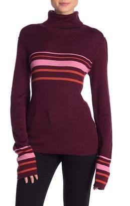 Free People Merino Wool Blend Turtleneck Sweater