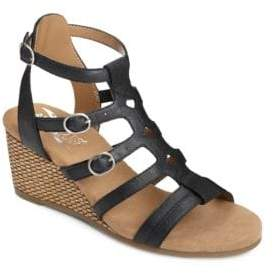 Aerosoles Sparkle Strappy Wedge Sandals