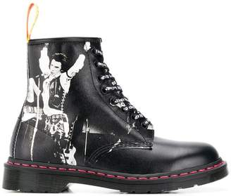 Dr. Martens Saffiano ankle boots