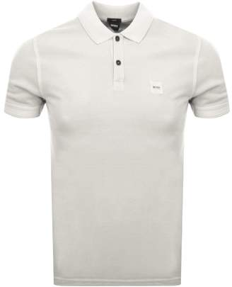 BEIGE Boss Casual BOSS Casual Prime Polo T Shirt