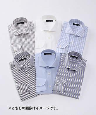 Isetan Men's (イセタン メンズ) - [イセタンメンズ] 【パターンメイドシャツ】綿100%形態安定生地/ネーム刺繍なし(PO‐1)