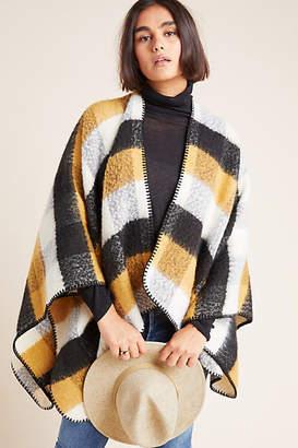 Anthropologie Ashlyn Plaid Kimono