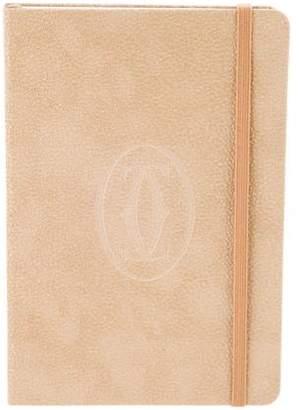Cartier Beige Pocket Notebook